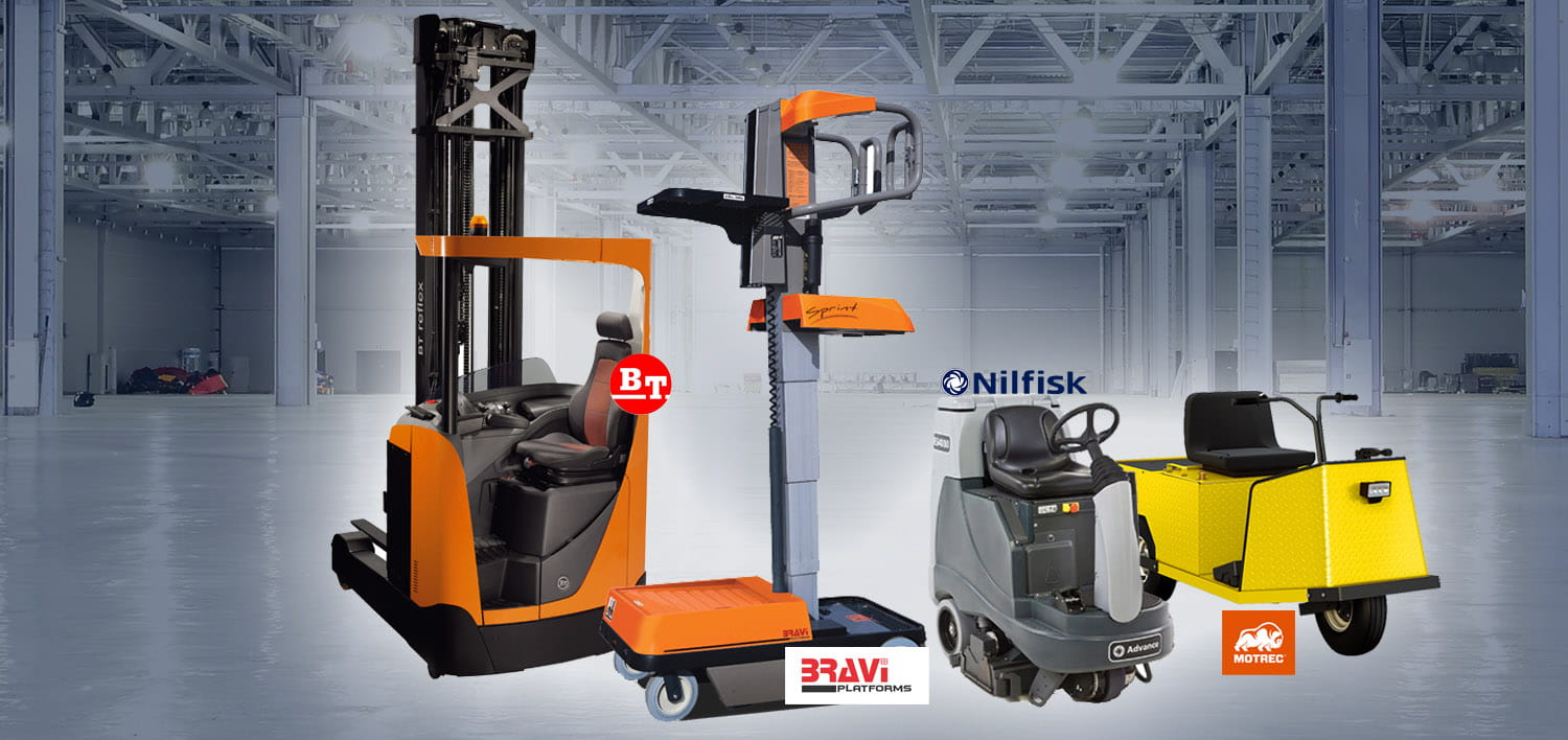 Electric Forklift & Electric Trucks for sale