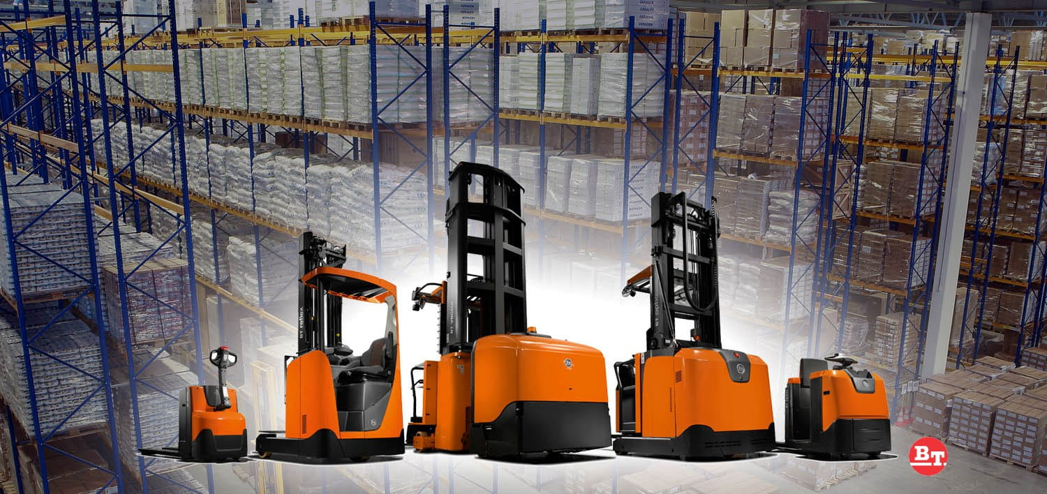 BT Electric Forklifts & Hand Pallet Trucks