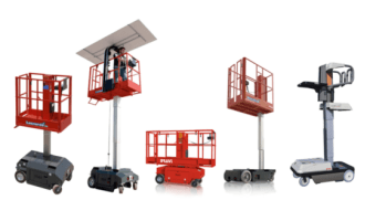 Bravi Electic portable aerial platforms