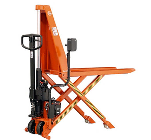 electric high lift pallet jack
