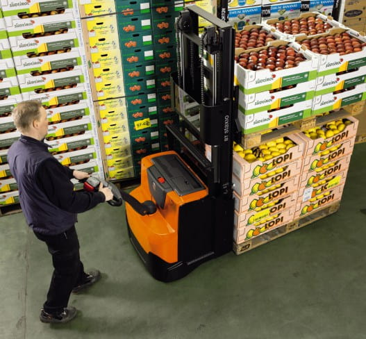 double pallet jack electric
