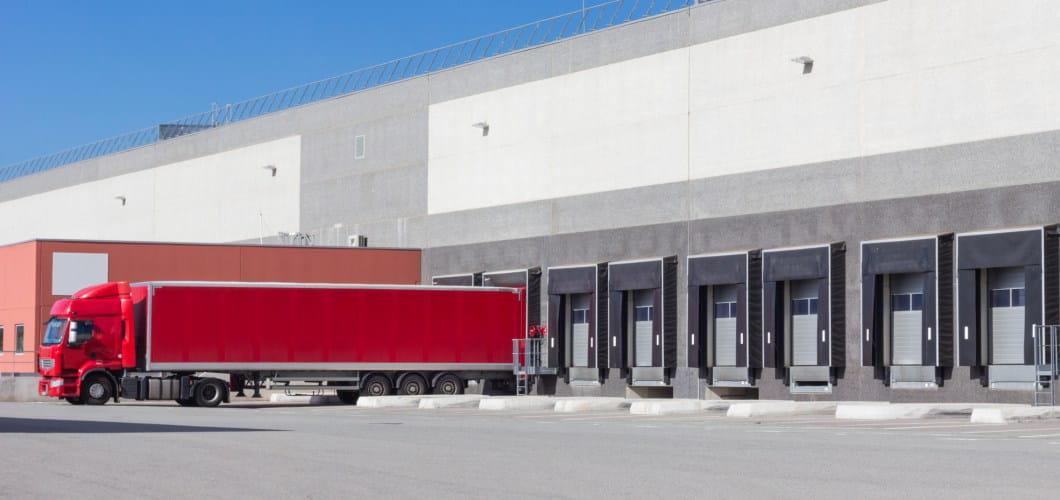 Industrial docks and doors