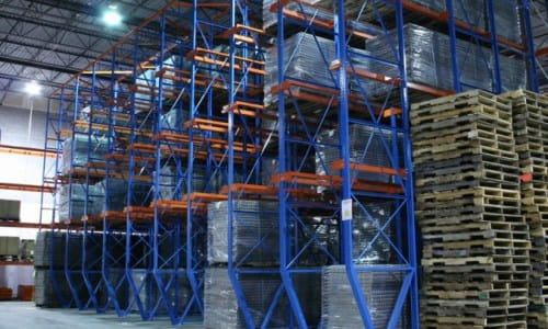 structural steel warehouse racking systems