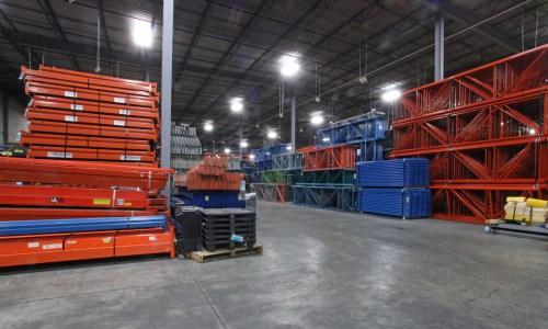 used pallet racking, used industrial rack & heavy duty shelving