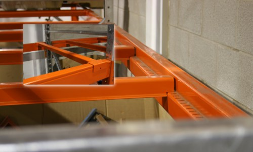 pallet safety bars