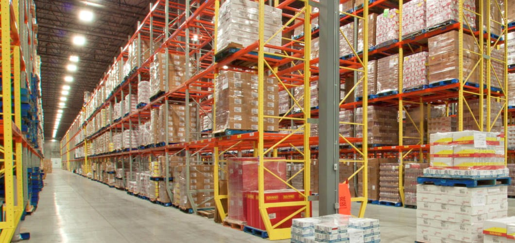 warehouse pallet racking systems