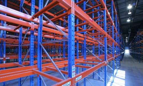 bolted pallet rack