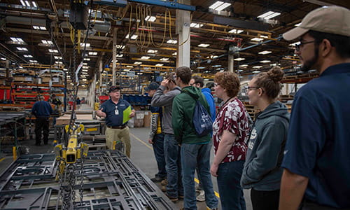 raymond manufacturing day tour