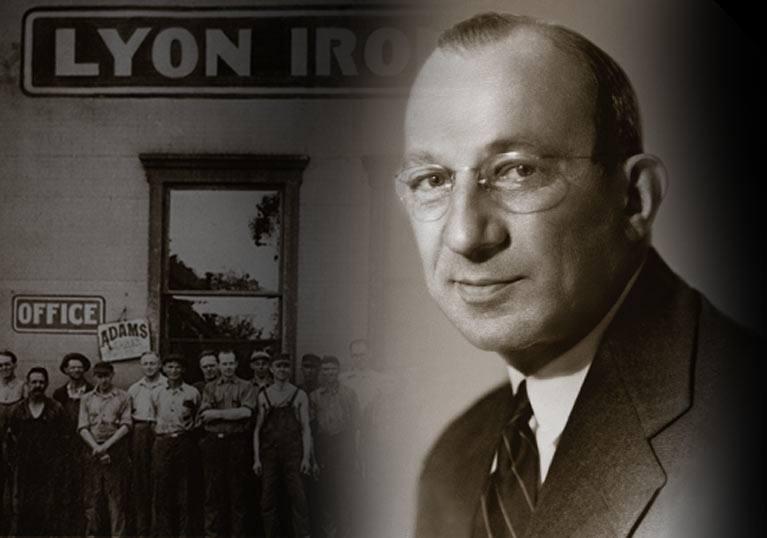 George Raymond Sr. founder of The Raymond Corporation