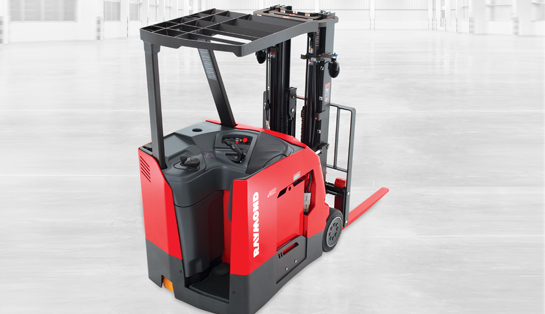 counterbalanced forklift, stand up forklift