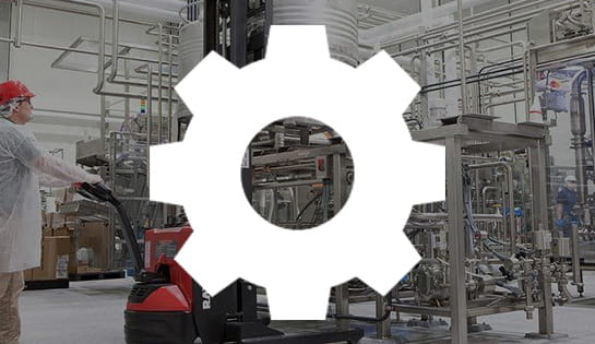 food processing, industry solutions, forklift application