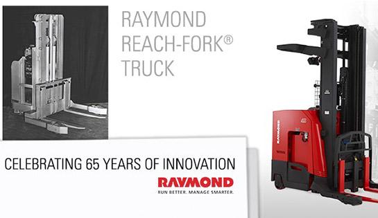Raymond Reach Truck 65th Anniversary
