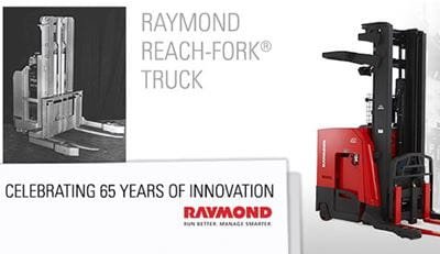 Raymond Reach Truck 65th Anniversary