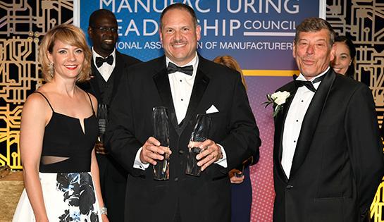 manufacturing leadership award, raymond award
