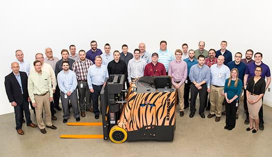 Raymond Forklift, RIT Engineering, Raymond Corp