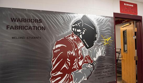 high school welding, welding program