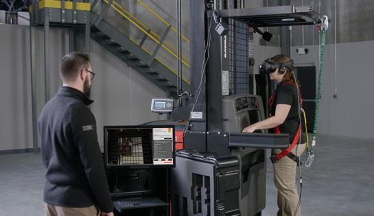 virtual reality simulator, VR