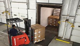 dock and door, dock door, warehouse dock