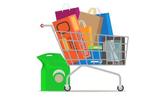 product shopping cart
