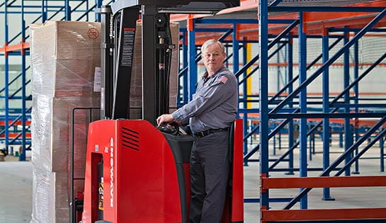 Raymond Handling Solutions and 9 to 5 Seating Warehouse Optimization