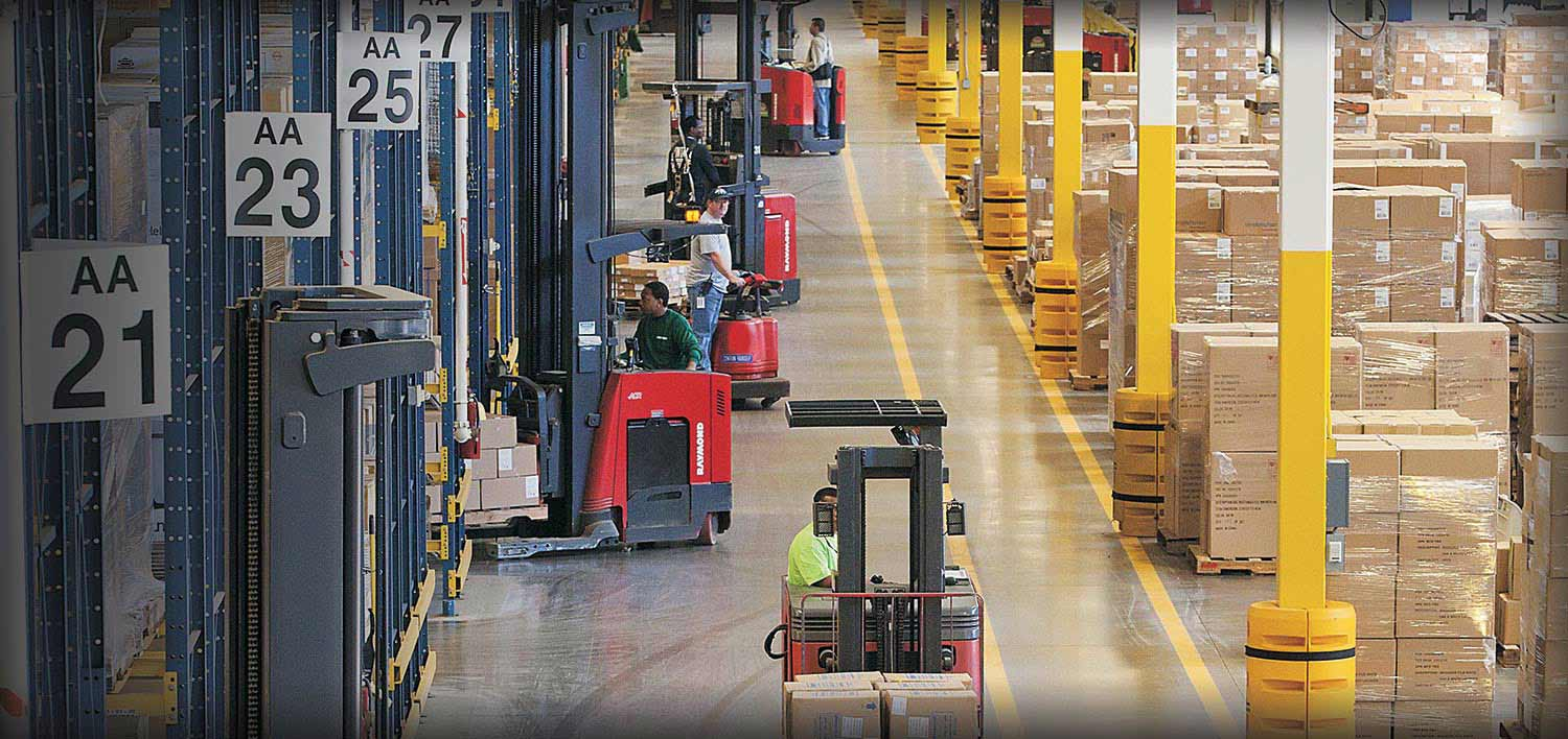 Raymond Lift Trucks, Fork Lifts, & Reach Trucks