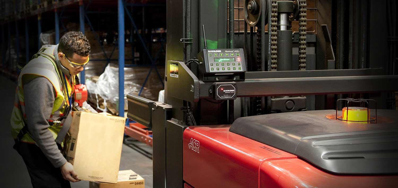 Raymond, iWAREHOUSE, fleet management system, Romark Logistics