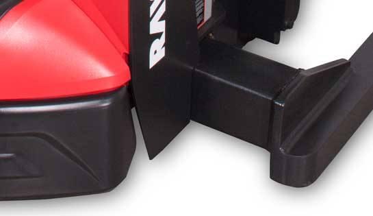 Raymond 6210 Walkie Straddle Stacker; Walkie Pallet Stacker with Adjustable Baselegs