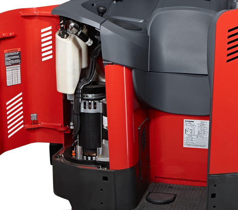 Raymond 7310 4-Directional Reach Truck ACR System