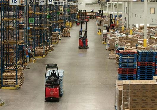 Raymond Automated Lift Truck