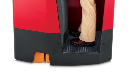 stand up forklift, Raymond forklift comfortstance suspension