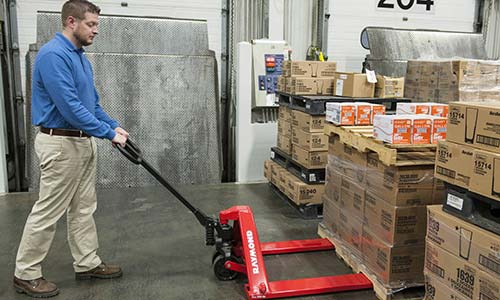 Raymond Low Profile Hand Pallet Jacks