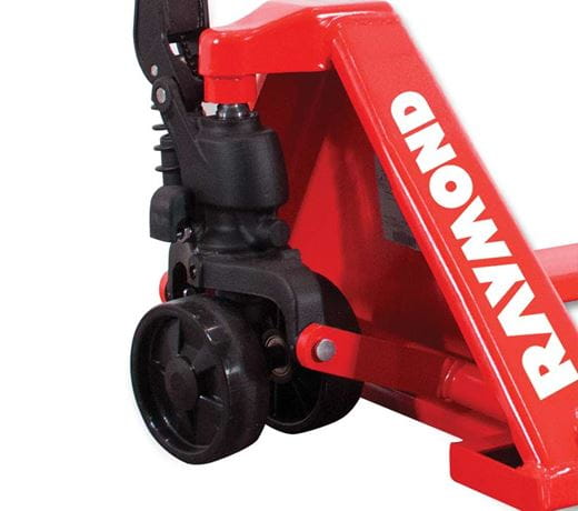 Raymond 4-way entry hand pallet jack