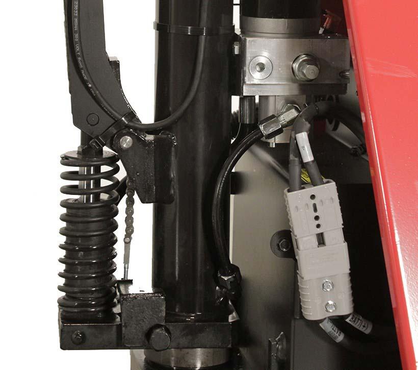 Raymond RG30 Skid Lifter Manual Pump with Quick Lift