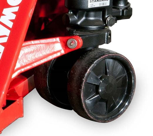 Raymond RJ50 Hand Pallet Jack with non-marking tires