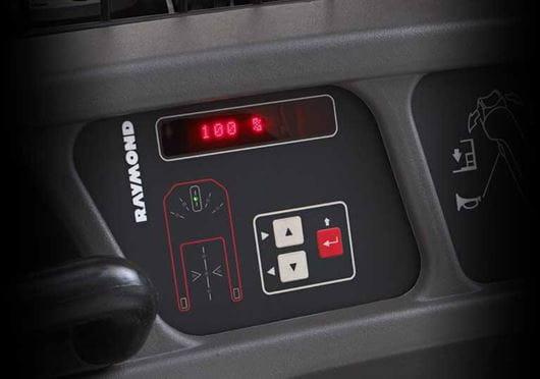 Raymond 5200 Orderpicker Truck Programmable Performance