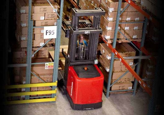 Raymond 5000 Series Orderpicker stock picker truck