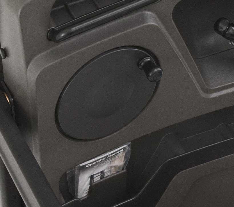 Raymond 5000 Series Order picker truck auto-center steering