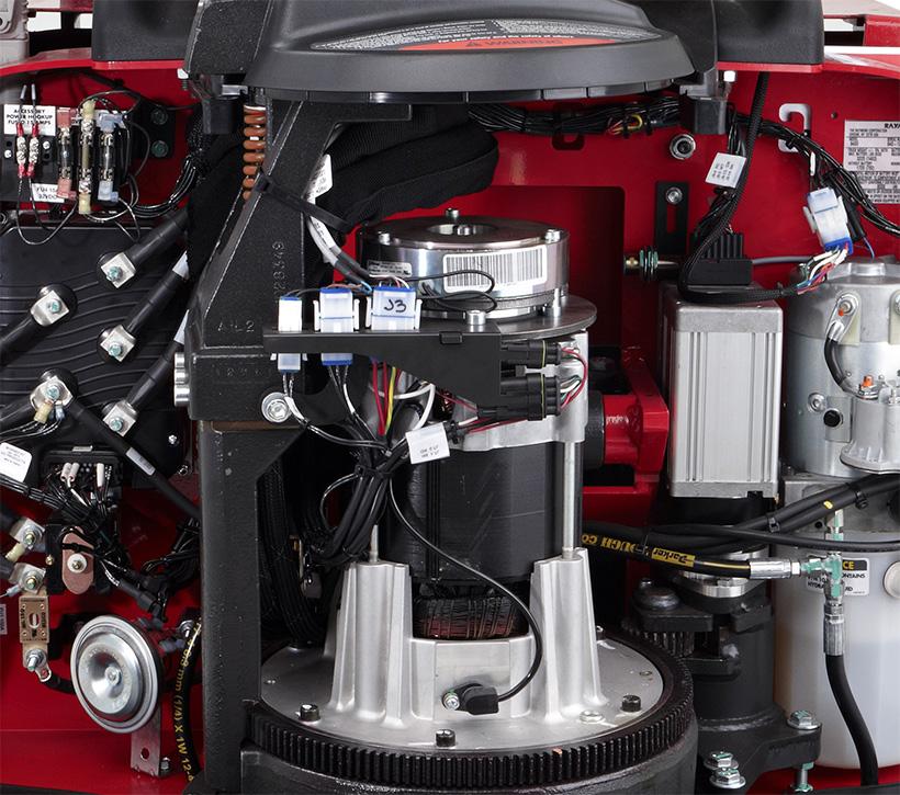 Raymond Pallet Truck AC Motor System