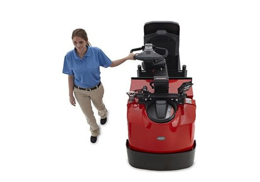 Raymond 8510 Center Rider Pallet Truck Programmable Performance