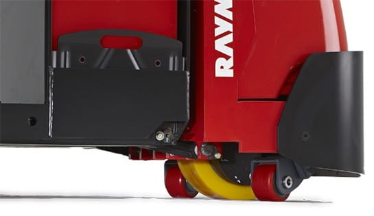 Raymond 8510 Center Rider Pallet Jack Heavy-Duty Casters