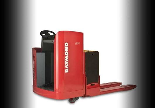 Raymond 8900 RIding Pallet Truck with Raymond's exclusive ACR System