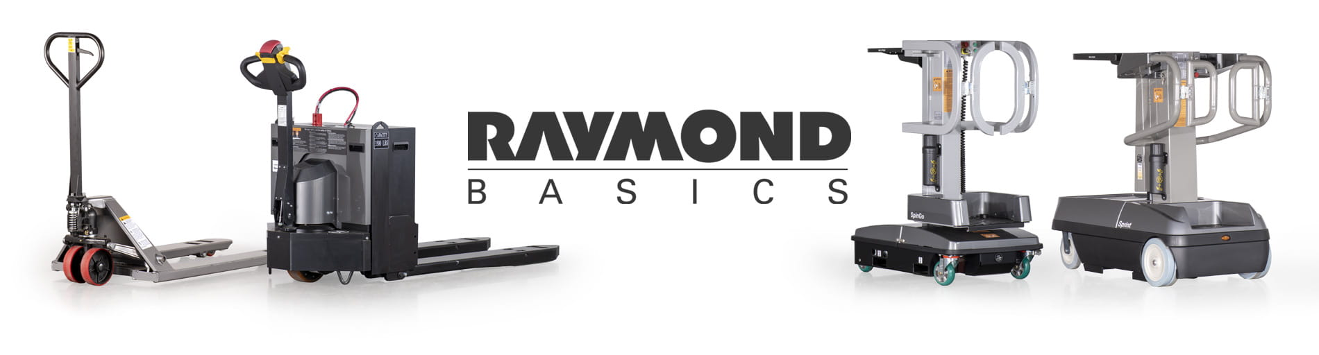 raymond basics, warehouse essentials