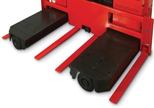 Raymond Sideloader Auxiliary Fork Carriage Option