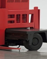 Raymond sideloader long load forklift auxiliary fork carriage