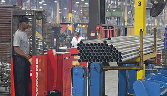 Raymond Sideloader Long Load Fork Lift optional bed lengths