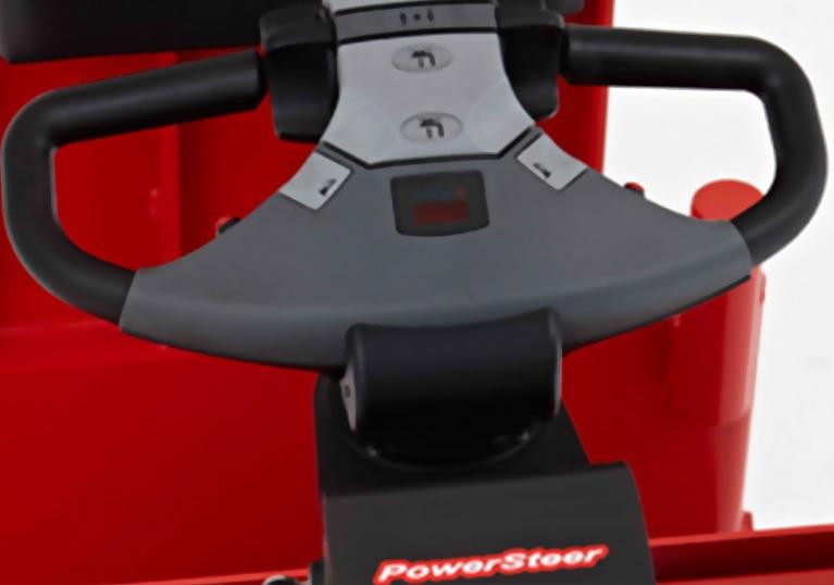 Raymond 8610 tow tractor power steer