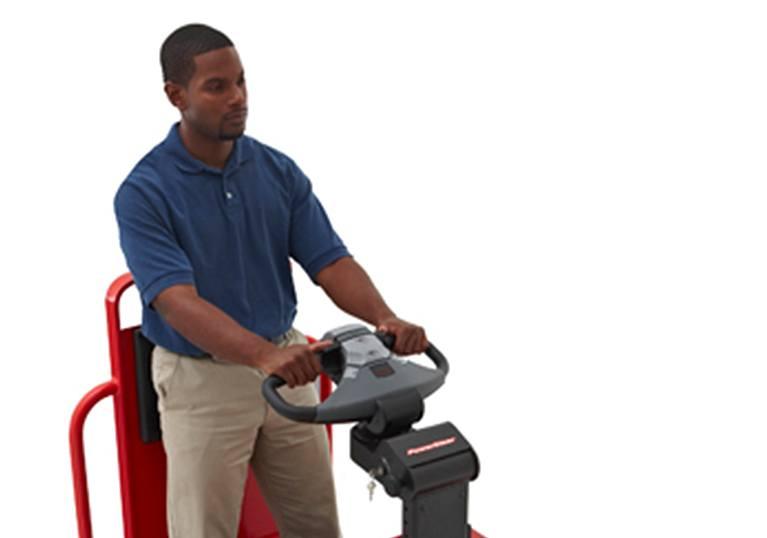 Raymond 8610 tow tractor control handle