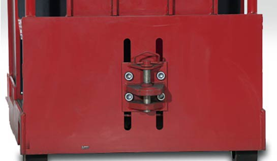 Raymond 8610 Tow Tractor Pin and Clevis Hitch