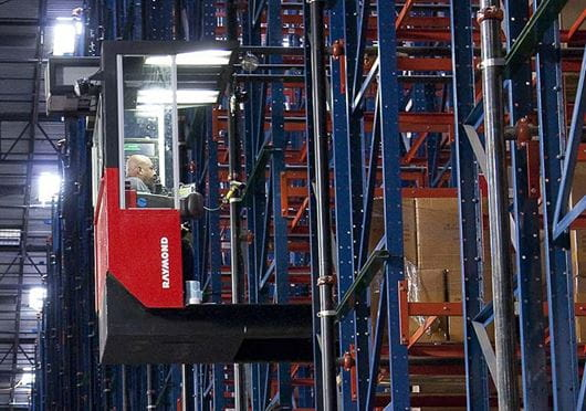 Raymond Transtacker Compartment Ligihting