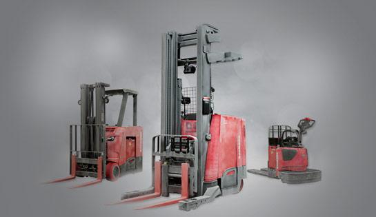 Raymond Cold Storage Forklift